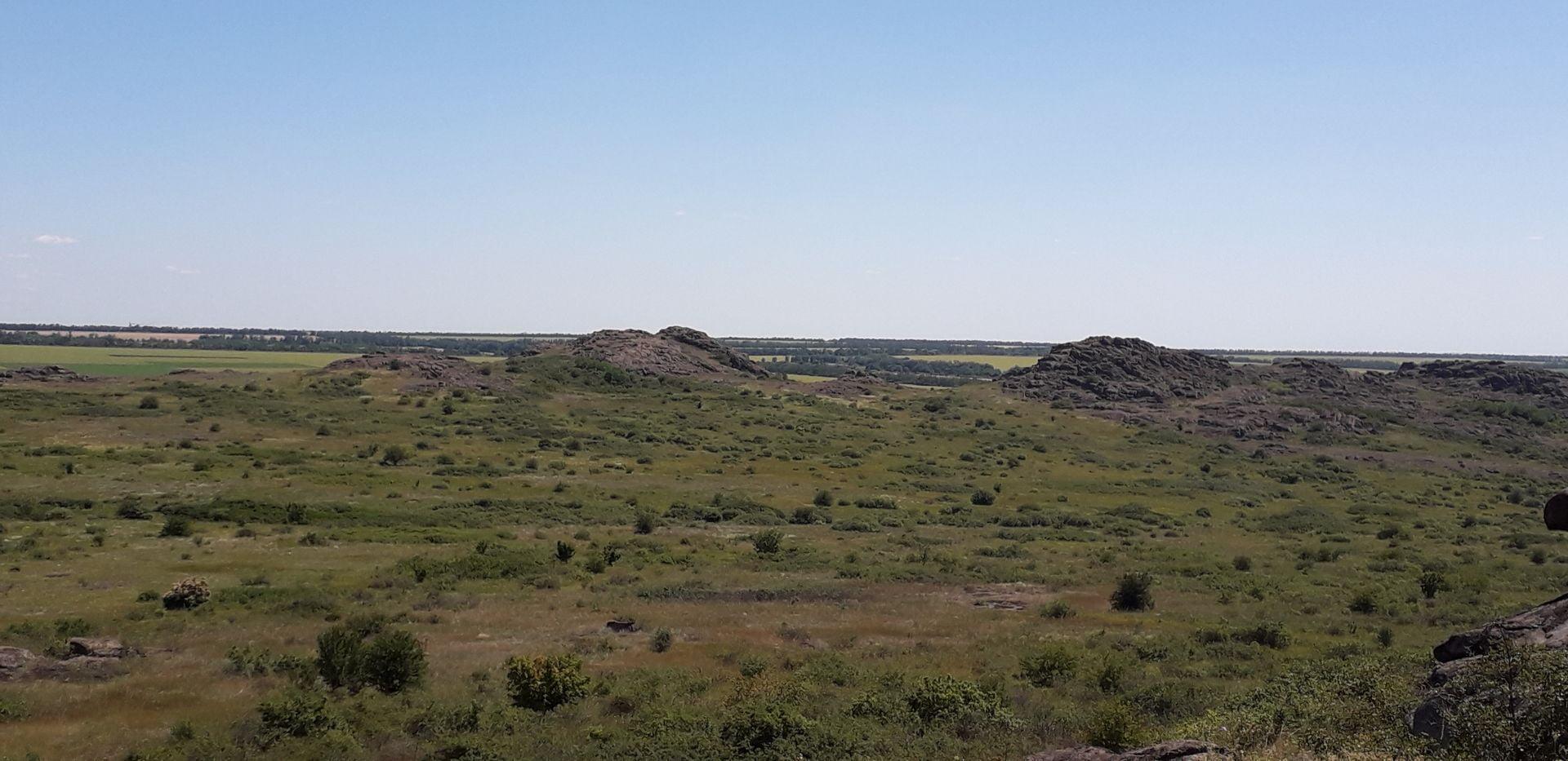 Урочище Каменные Могилы (Беш-Таш)