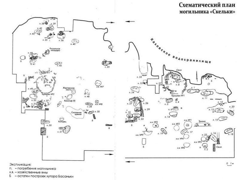 Городище древних амазонок под Запорожьем