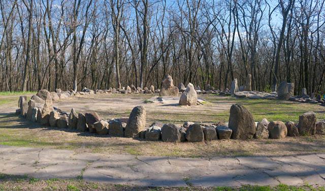 Святилище-обсерватория на Хортице
