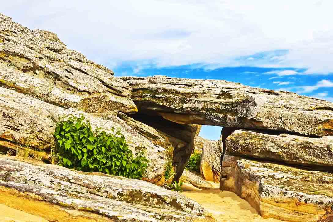 Каменная Могила врата