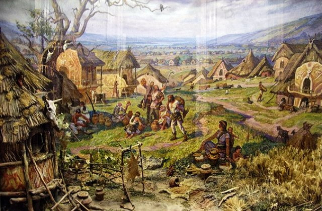 каменная могила поселение