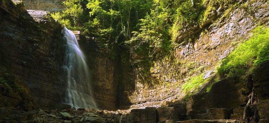 Манявский водоспад