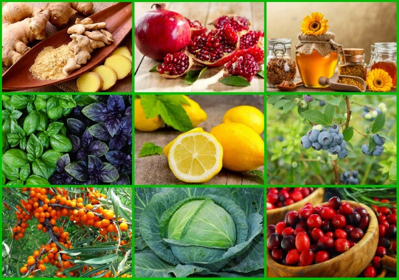 Природные антибиотики: натуральные продукты и травы