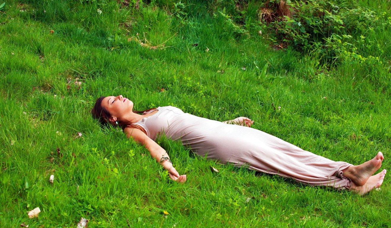 Расслабление в Шавасане