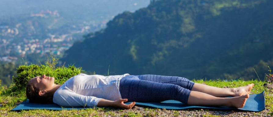 Шавасана - поза медитации