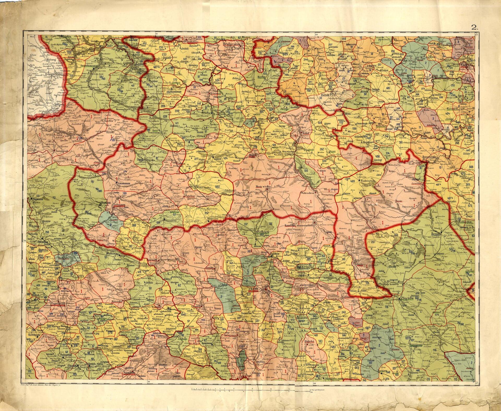 Средневековая карта Польши