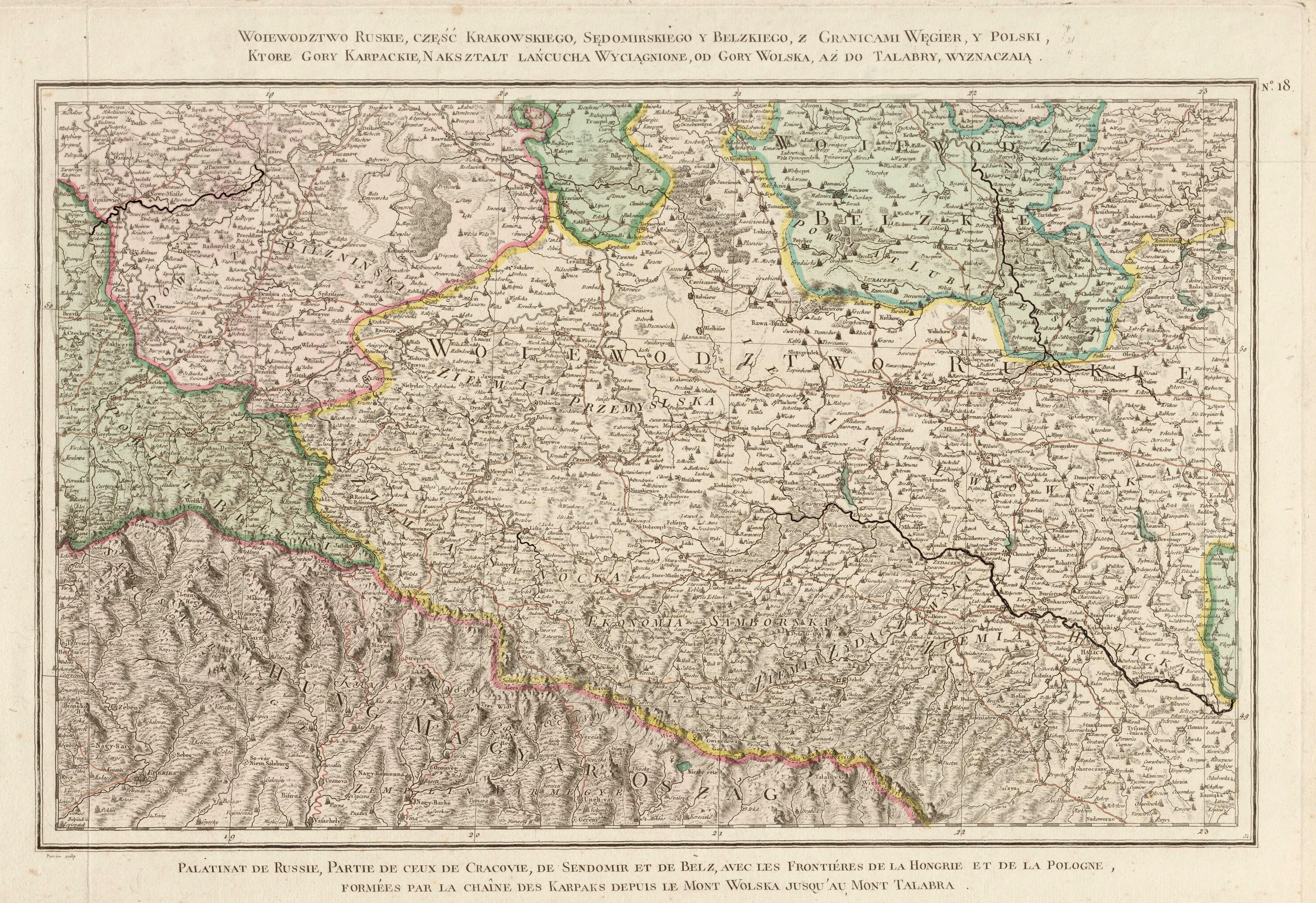 Карта Риччи Занони