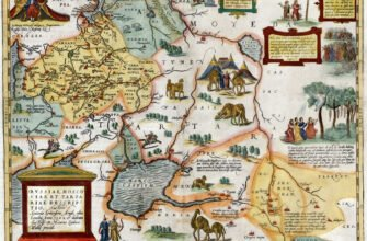 Карта Московии Дженкинсона
