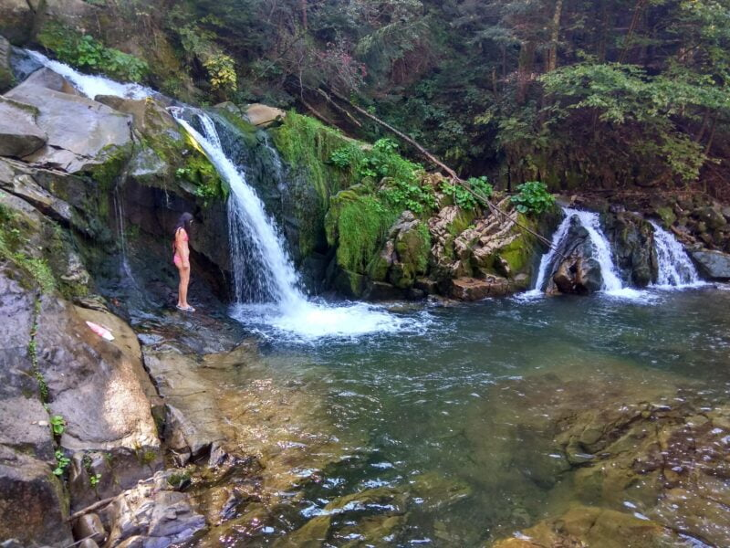 каменный водопад сколе