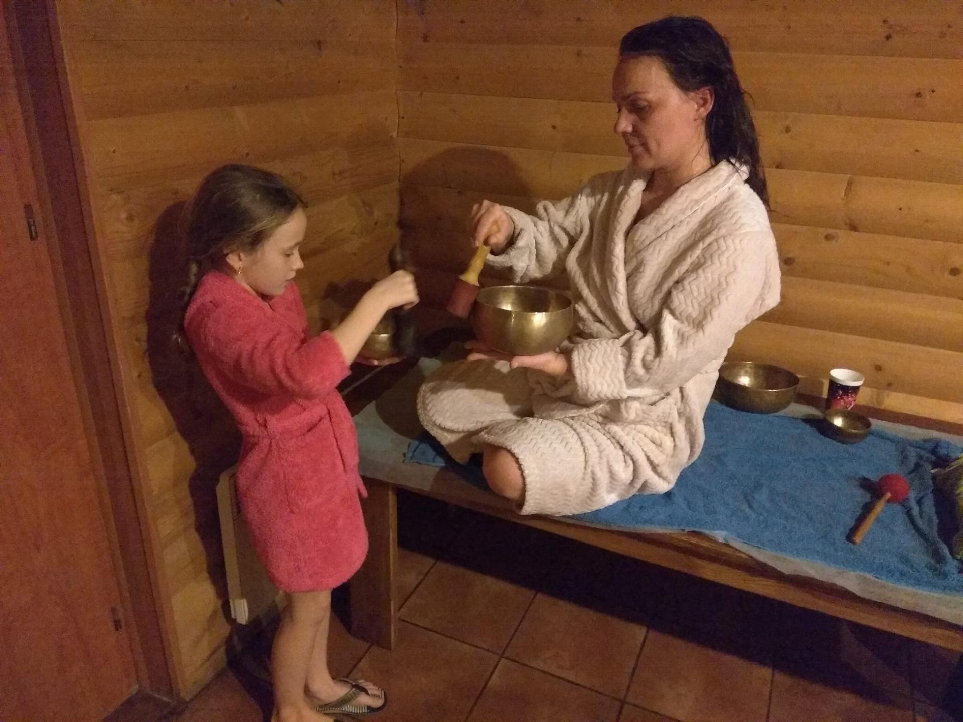 О пользе бани для детей