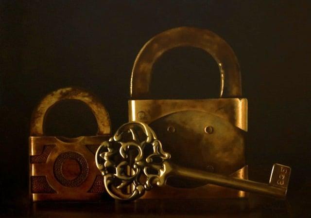 Ключи и замки в обрядах