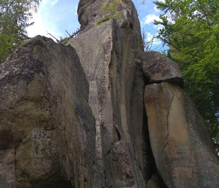 Скала Белый камень