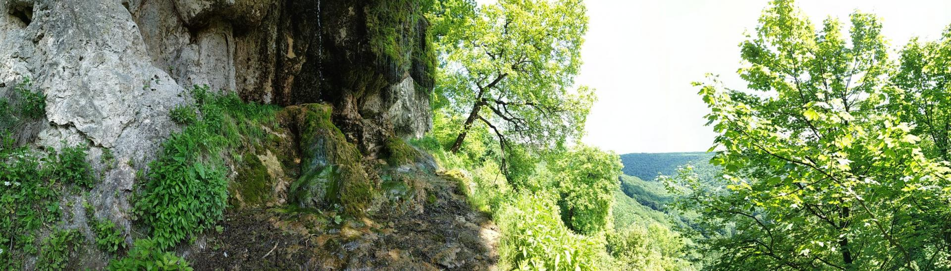 Водопад Девичьи слезы