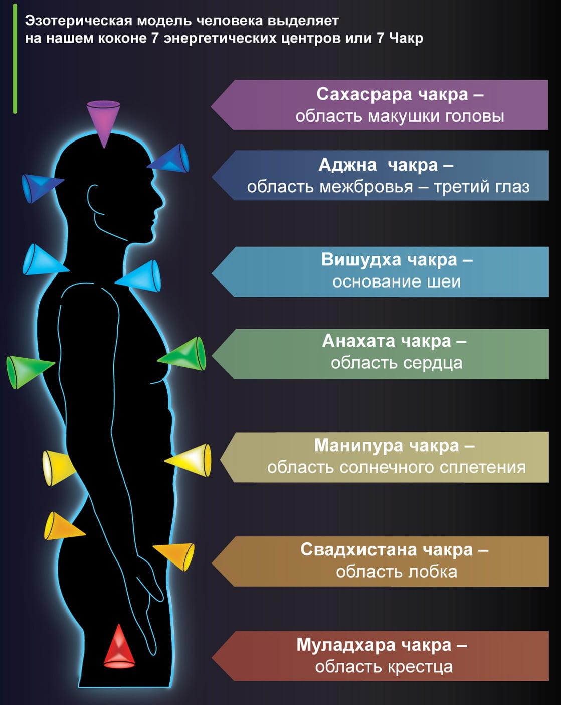 Чакральная система человека