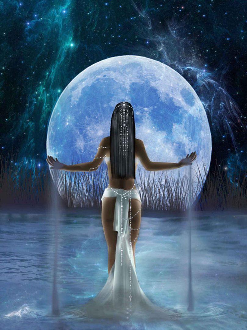 Женщина - Луна