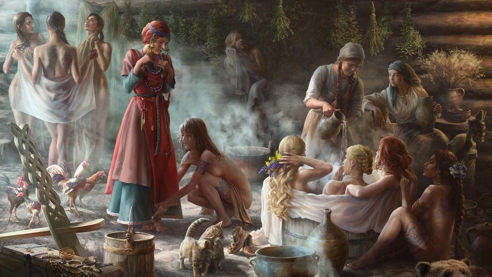 Сакральность русской бани