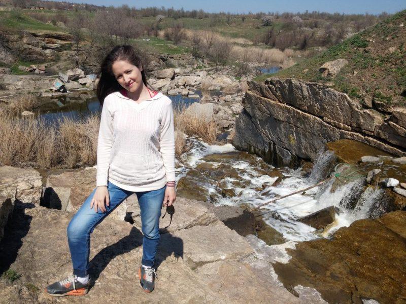 водопад запорожская область