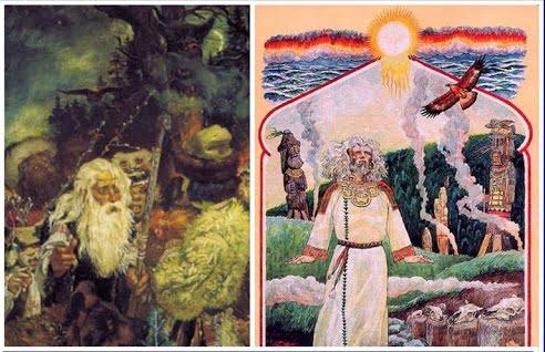 Славянские волхвы и жрецы