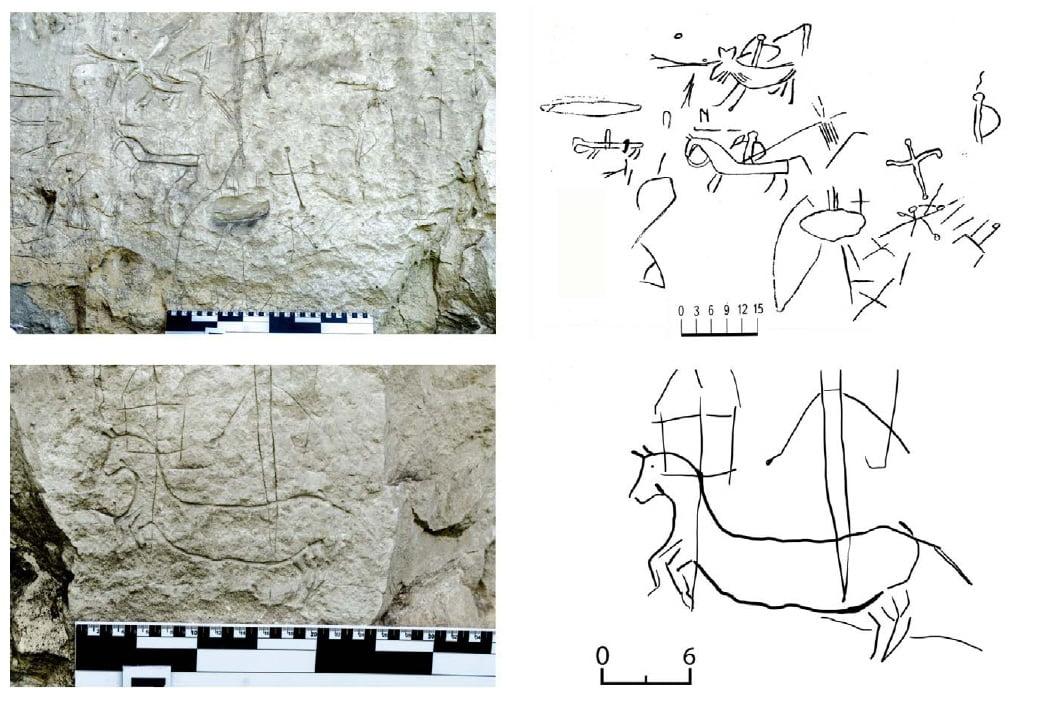 петроглифы рисунки
