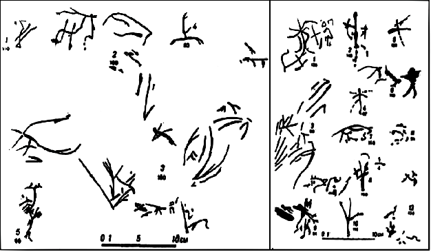 Наскальные петроглифы