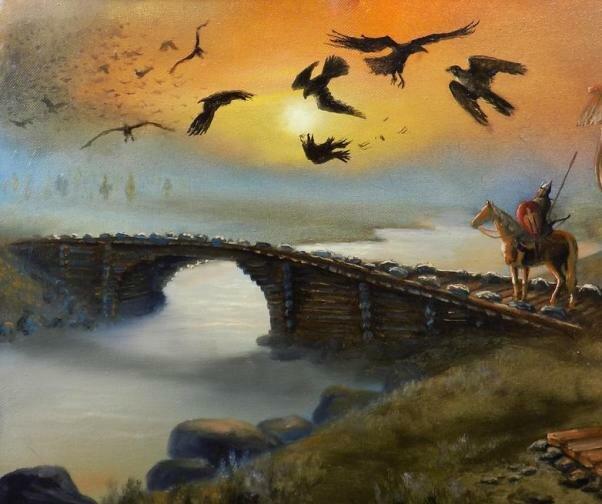 Калиновый мост и река смородина