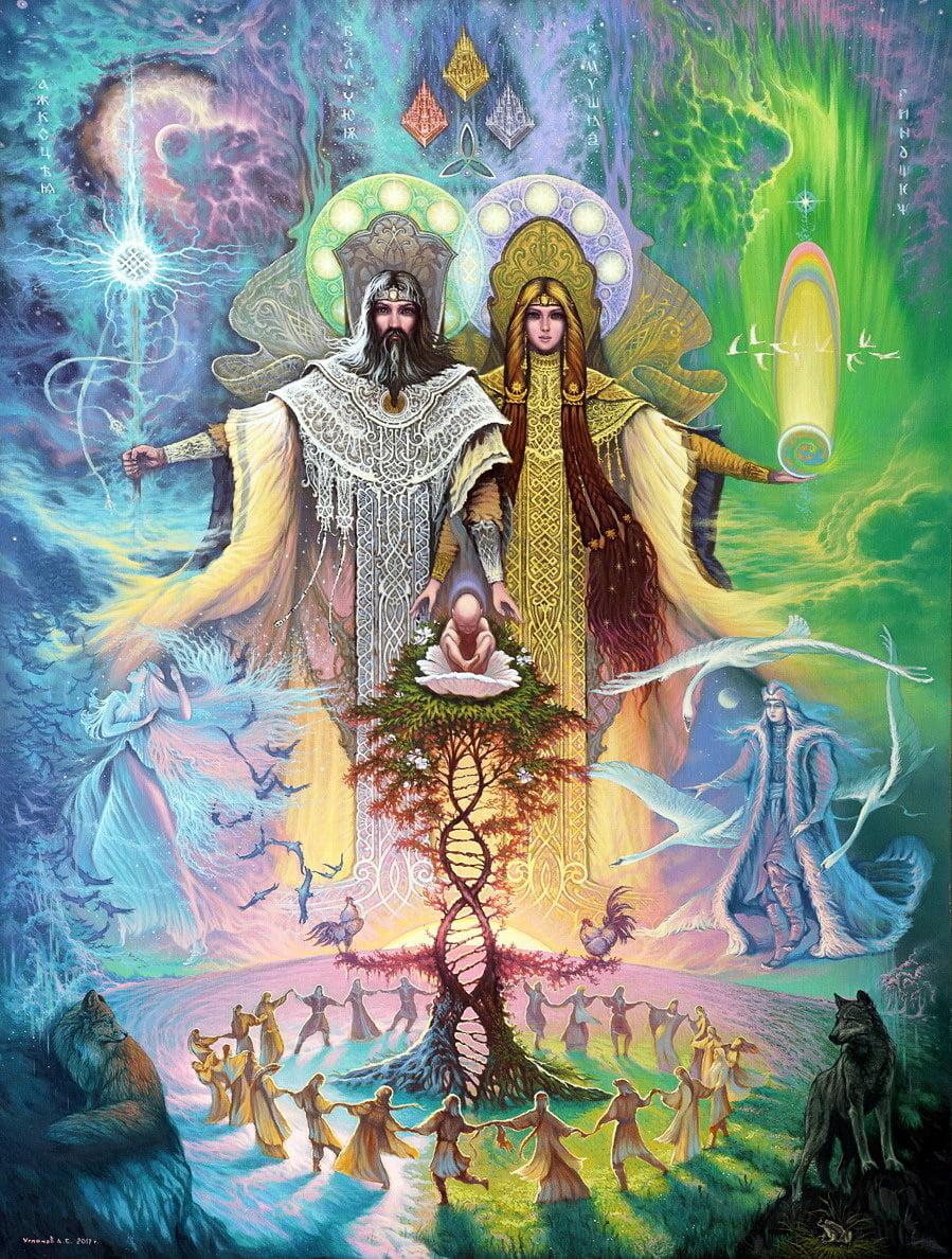 Сварог и Лада