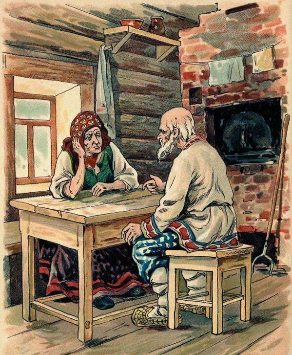 Сказка Дед и бабка